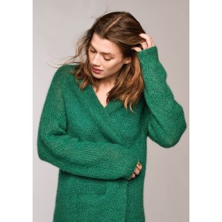 Rippenmuster Pullover  (Materialset) - ohne Anleitungsheft