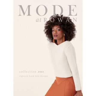 MODE at ROWAN  collection one eighteen hand knit designs