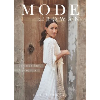 MODE at ROWAN summer knit 4 projects