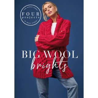 Rowan 4 projects Big Wool Brights