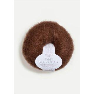 Livia Genser - Pullover (Materialset) 3072 morkbrun XS